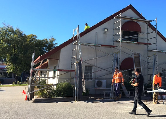 Roof Scaffolding Installation Perth