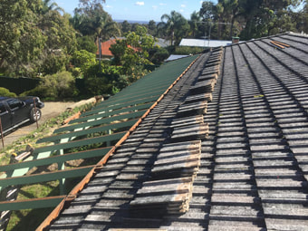Cement tiled roof replacement Perth