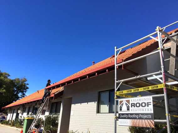 Roof Progress Inspection Perth